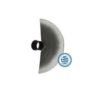 Τσάπα ημιστρόγγυλη ατσάλινη δίσκου