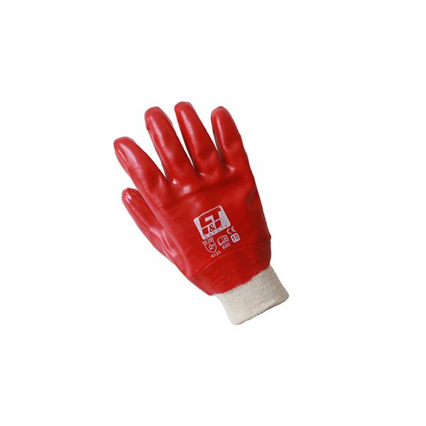Γάντια PVC με μανσέτα P800
