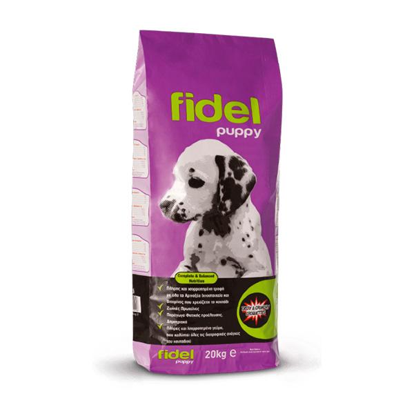 Σκυλοτροφή Fidel για κουτάβια