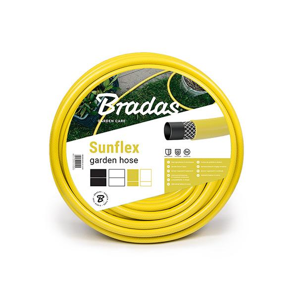 """Λάστιχο ποτίσματος Bradas Sunflex Garden Hose 1/2"""" 20m"""